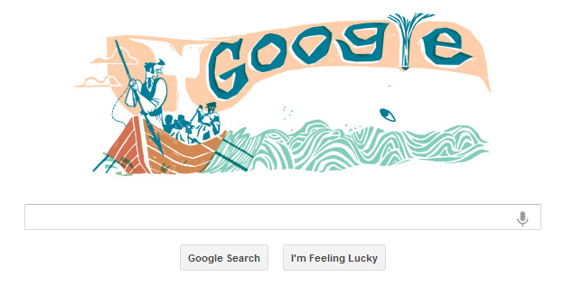 Moby Dick Google Doodle