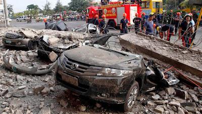 TERREMOTO DE 7,2 GRADOS EN FILIPINAS 93 MUERTOS, 15 DE OCTUBRE 2013