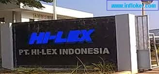Lowongan PT HI-LEX INDONESIA Operator Produksi
