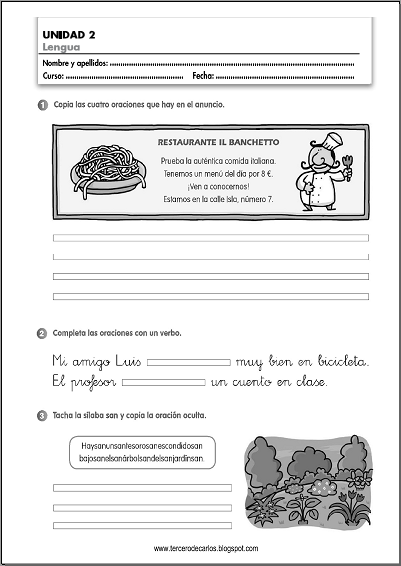 http://www.primerodecarlos.com/TERCERO_PRIMARIA/octubre/Unidad2/fichas/lengua/ficha9.pdf