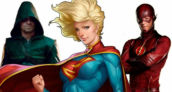 Supergirl crossover con Arrow y The Flash