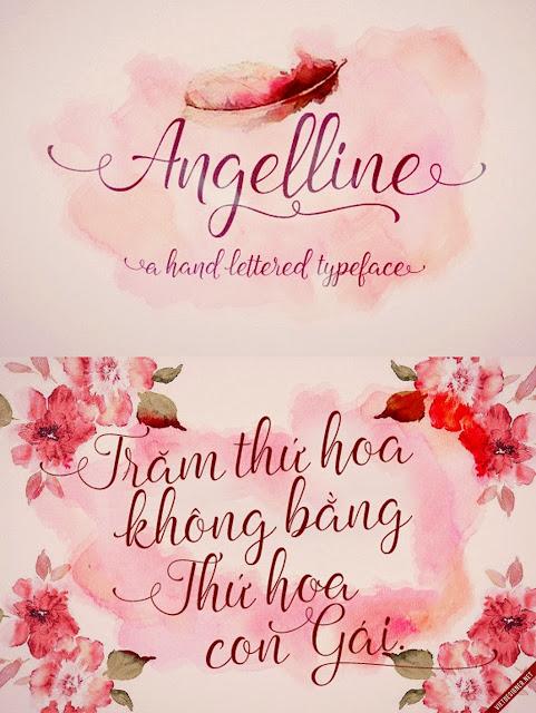 [Script] Angelline Script Việt hóa