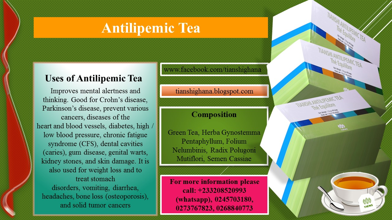 TianShi / Tiens Products & Business Support: Antilipemic ...