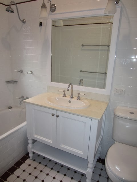 Lovely How to paint a bathroom vanity by Lilyfield Life