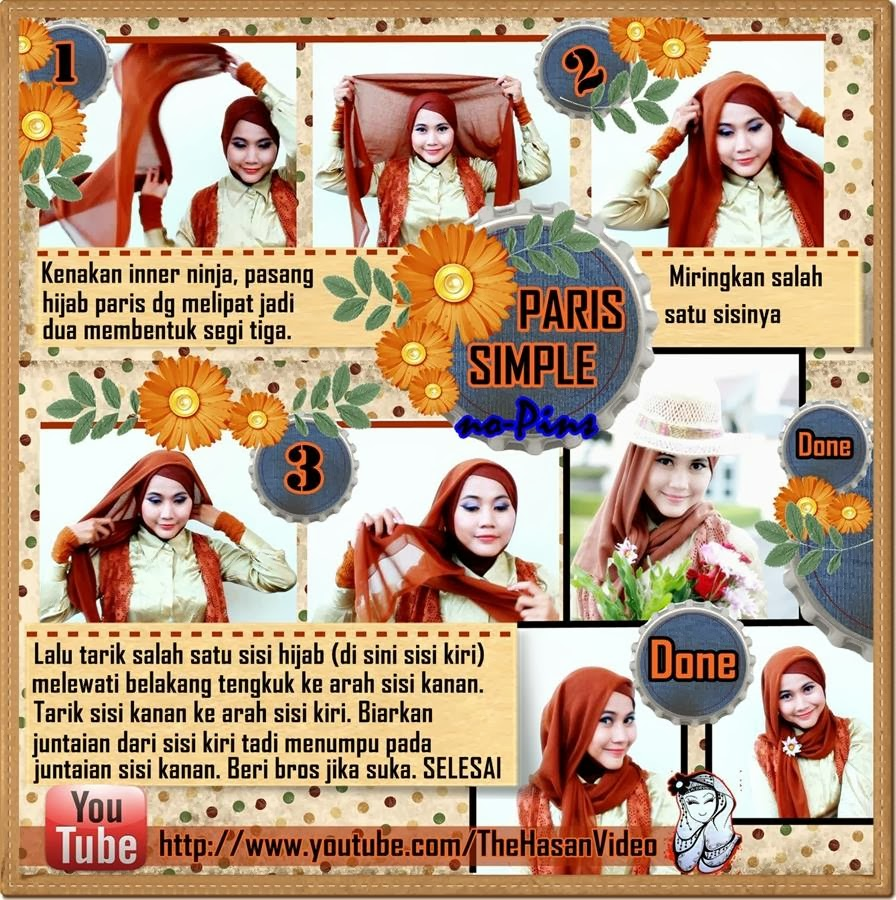 NEW TUTORIAL HIJAB ALA RISTY TAGOR Hijab
