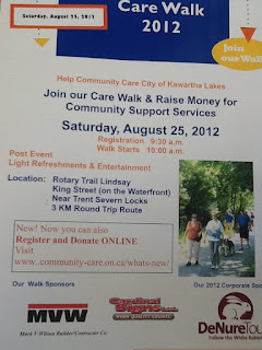 image Community Care Walk poster