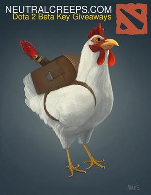 Dota 2 chicken