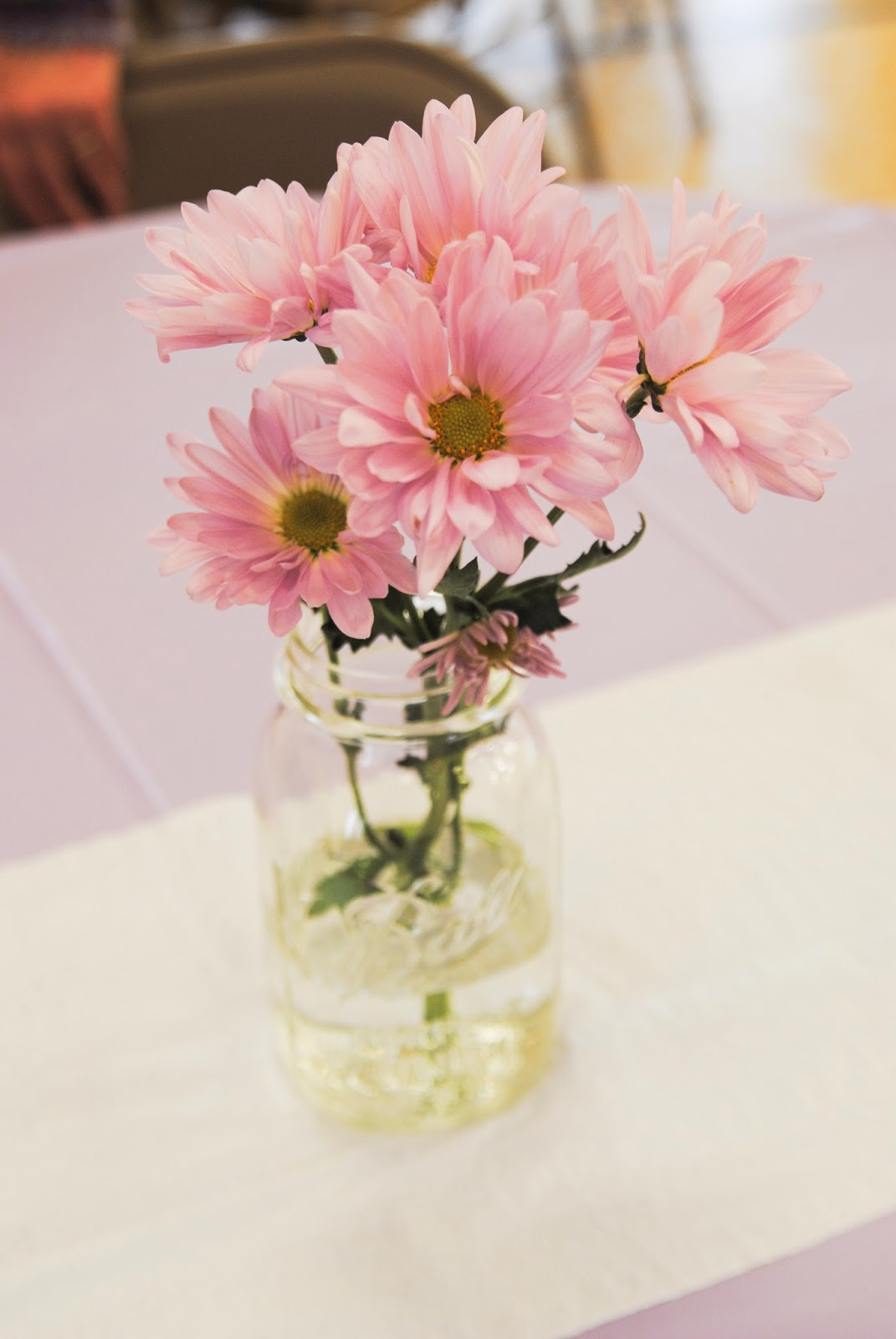 Stick pony creations our baby girl 39 s baptism - Simple baptism centerpieces ...