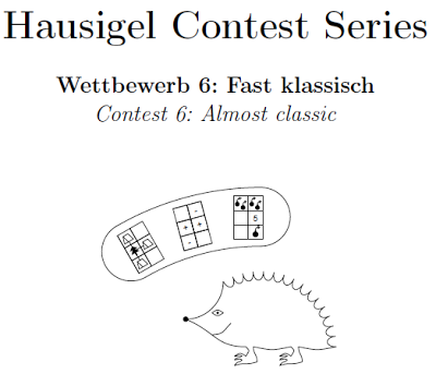 Hausigel Contest Series 6-> Almost Classic