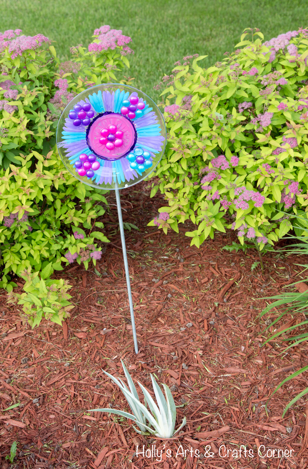 Holly\'s Arts and Crafts Corner: Craft Project: Beautifying Our Yard ...