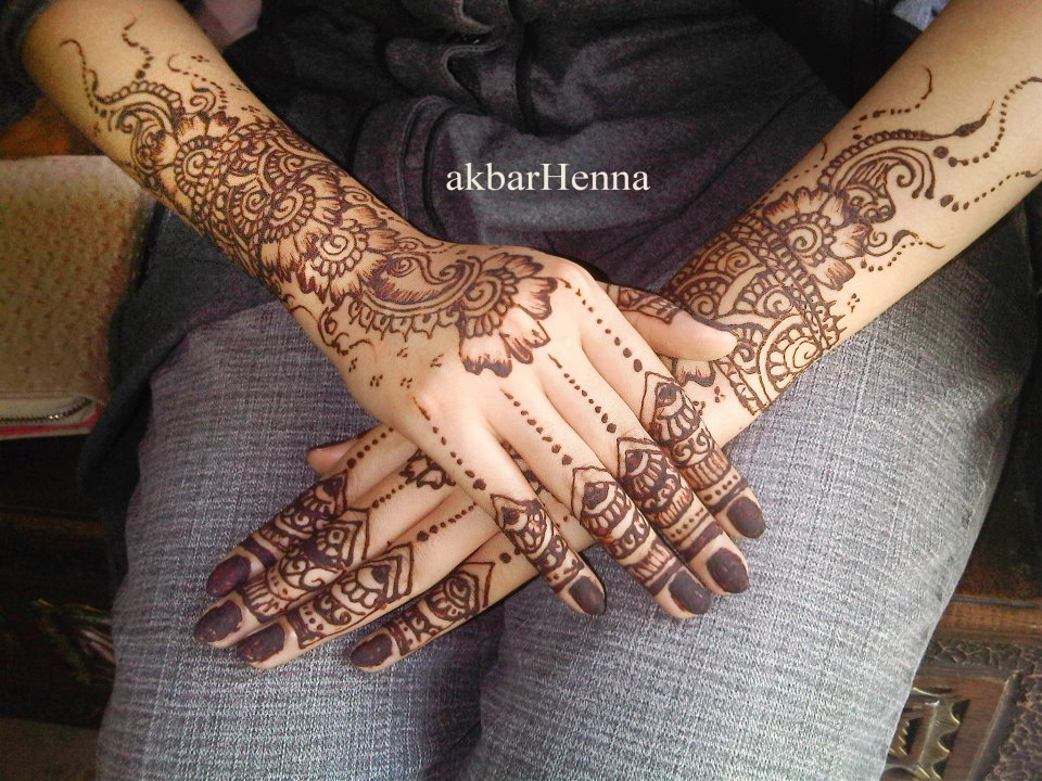 Ocha Naami Henna Wedding By Akbar Henna