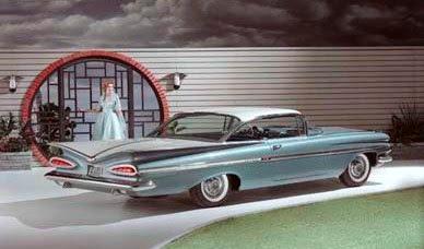 1958 impala hardtop sport coupe 1959 chevrolet impala convertible ...