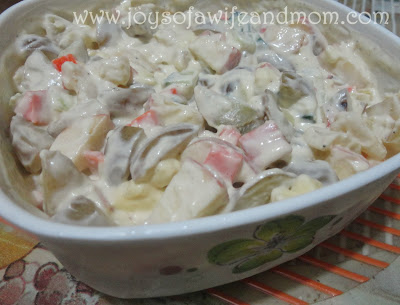 Marble Potato Salad