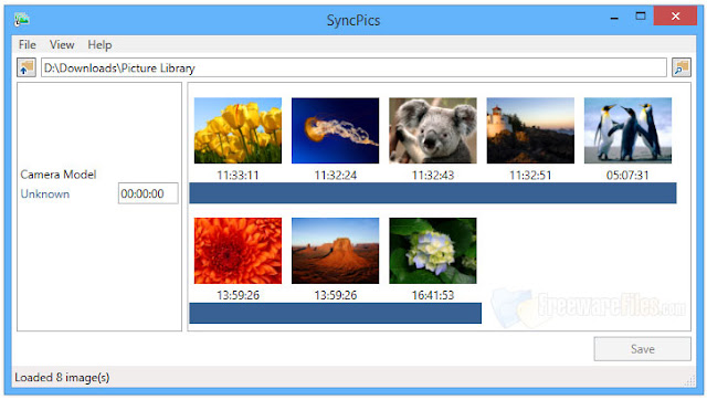 Download SyncPics-sorteaza imaginile surprinse cu camerele digitale