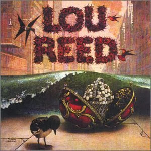 First album of Lou Reed in 1972