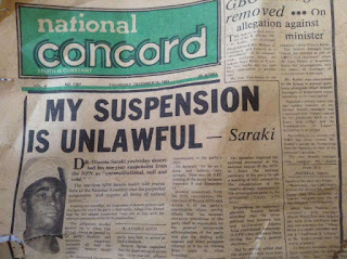 Saraki CCT Suspension