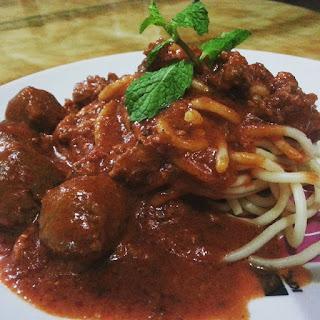 Resepi Spaghetti Meatball Mudah dan Sedap