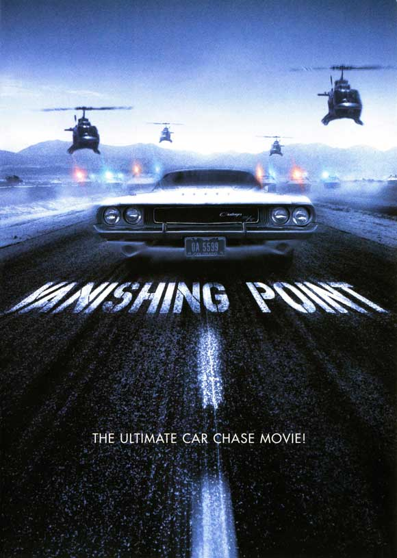 Cult Movie Posters Vanishing Point 1971