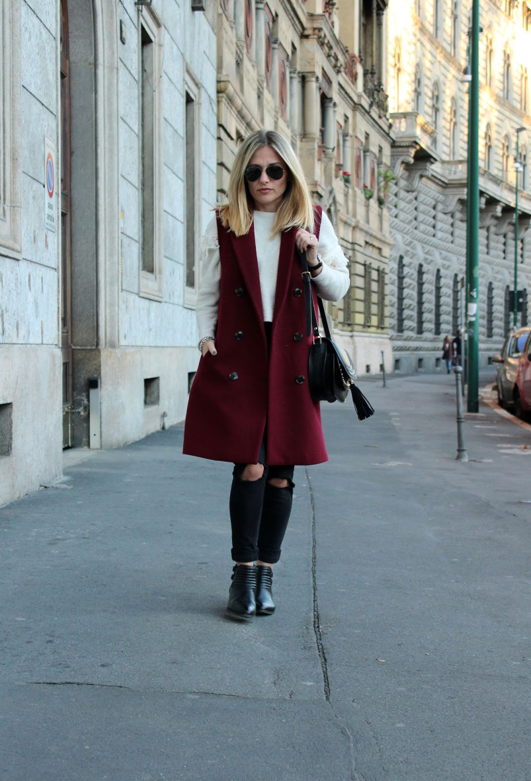 Eniwhere Fashion - ootd Milano - Zara coat