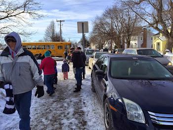 Afternoon Rush at Knickerbocker School