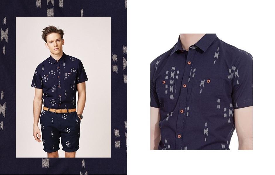 camisa con estampado original