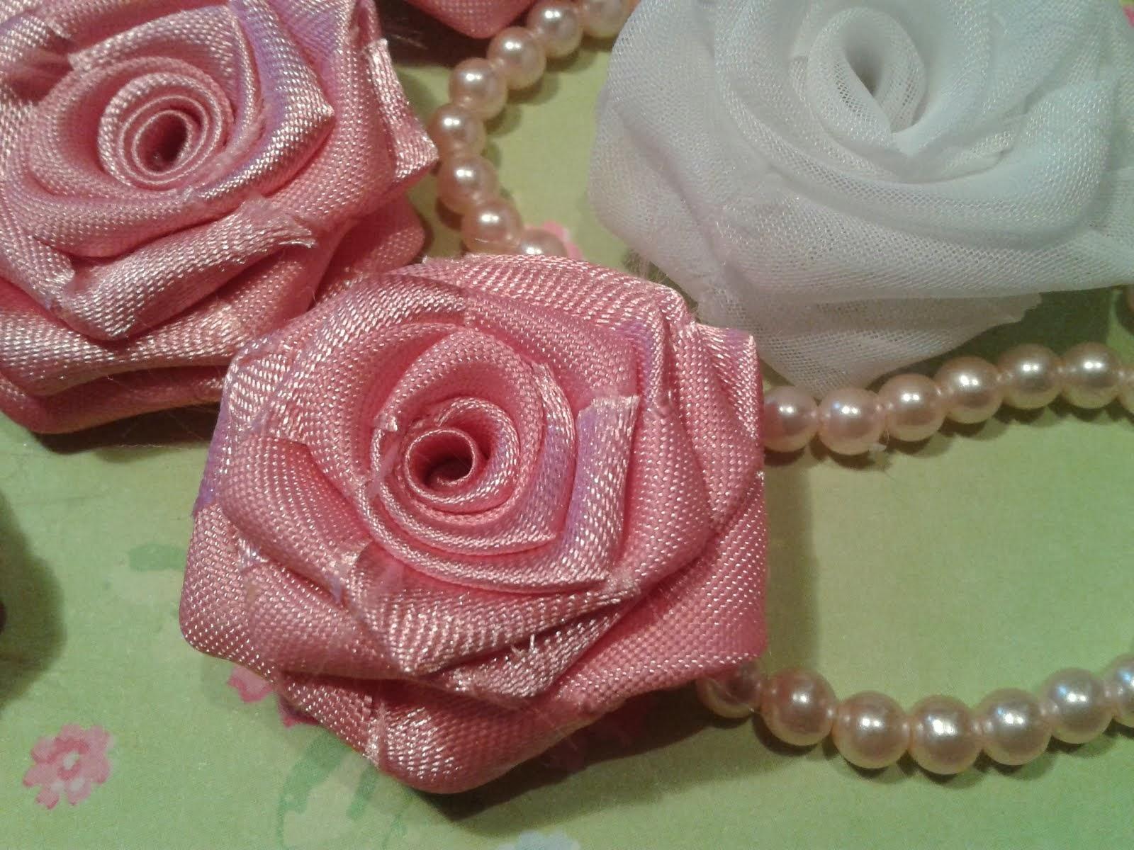 Rosas hechas a Mano