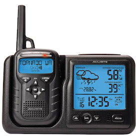 AcuRite Weather Station With NOAA Weather Radio And Alarm Clock