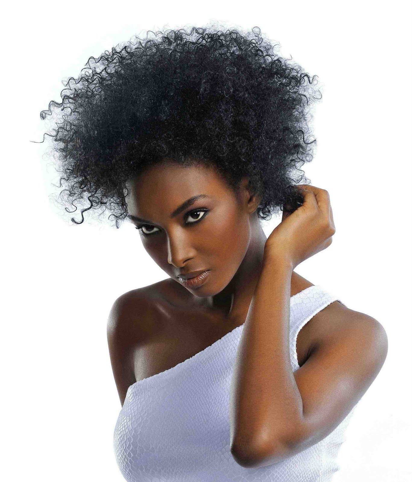 curly hairstyle for black women curly hairstyle for black women curly  title=