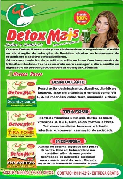 DETOX  MAIS; PEDIDO-991817212
