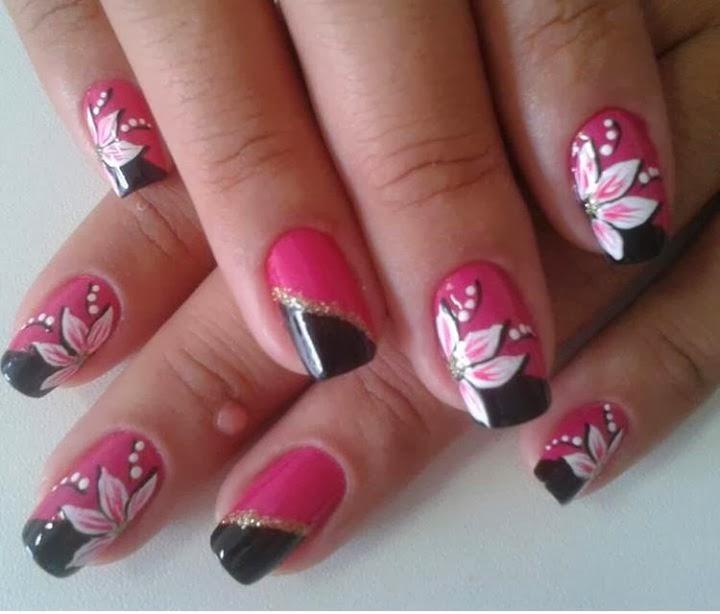 pintados de uñas para pies faciles | Cristina
