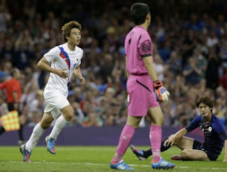 South Korea, Japan, Olympic bronze, Men's soccer