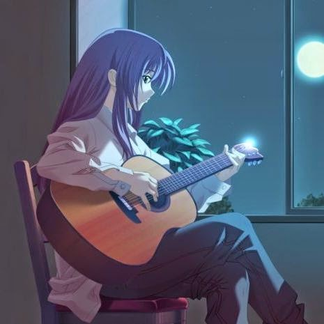 DP BBM Anime Sedih