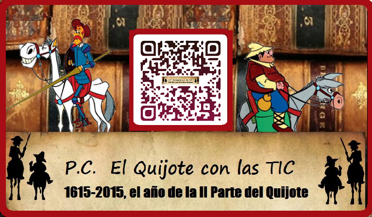 P.C. El Quijote con las TIC