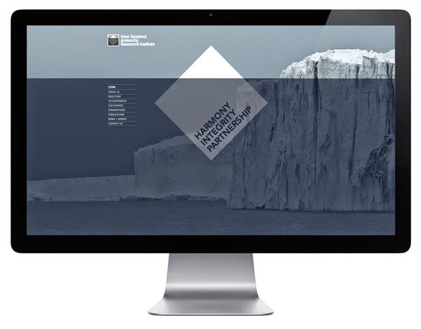 The New Zealand Antarctic Research Institute logo design