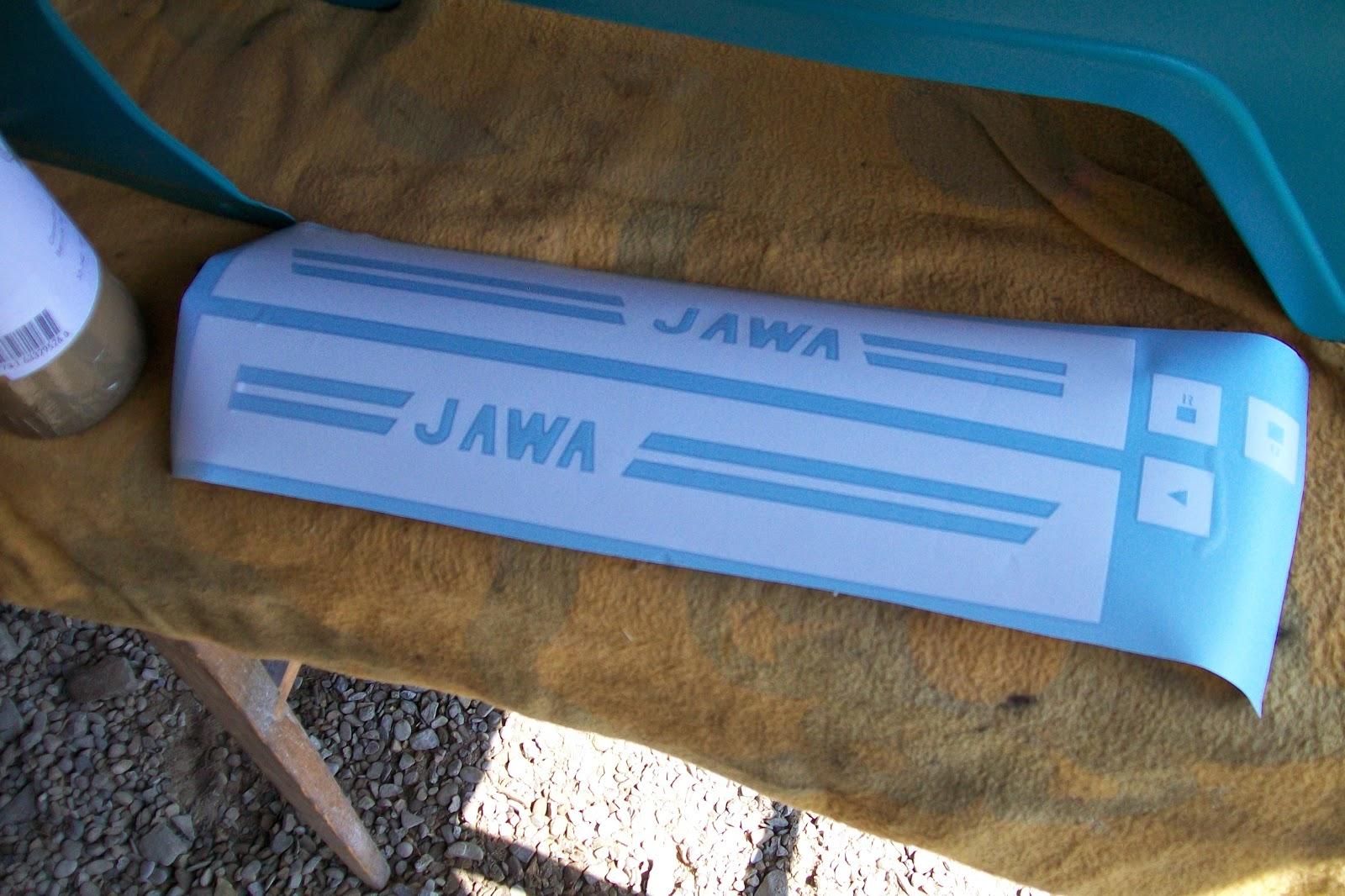 Szablony lakiernicze Jawa