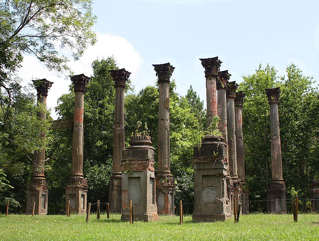 Southern lagniappe windsor ruins a mississippi for Historical vacation spots in the south