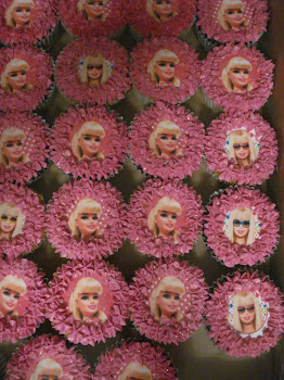 Barbie Picture Cupcakes