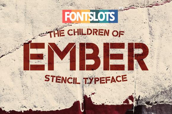 Ember Typeface Font Free Download