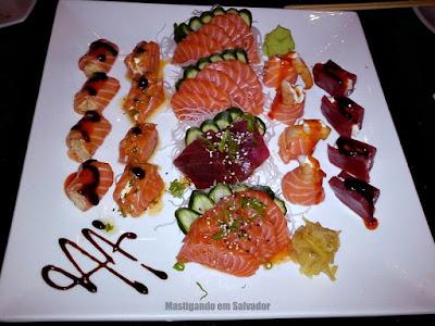 Gattai Restaurante: Combinado Salvador (36 peças)