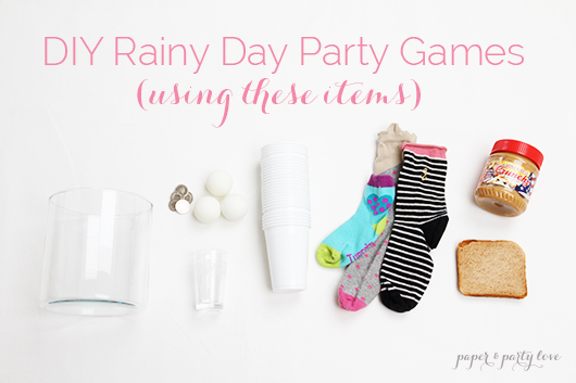 DIY Rainy Day Party Games