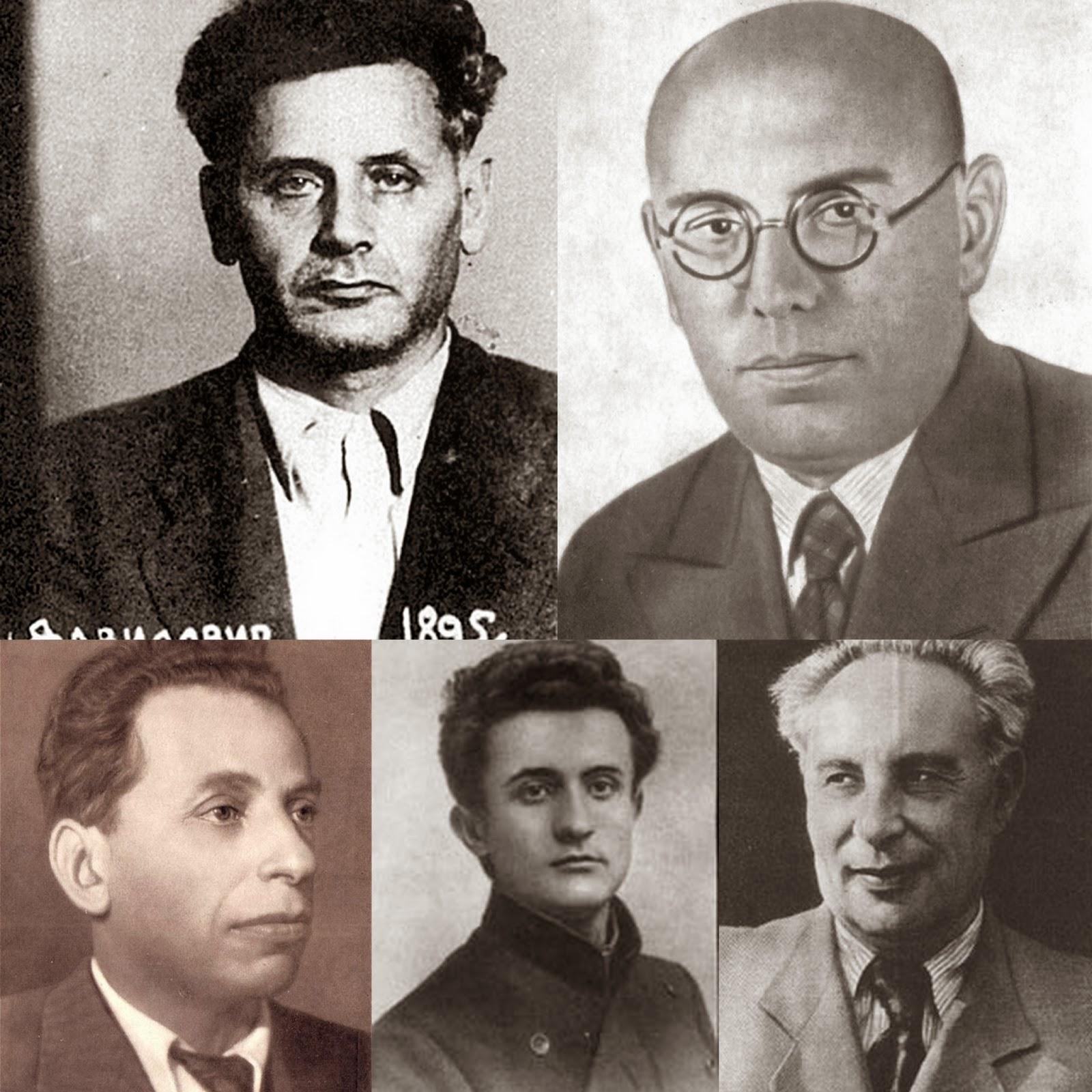 Bildergebnis für David Bergelson, Peretz Markish, Leib Kvitko, Solomon Lozovsky