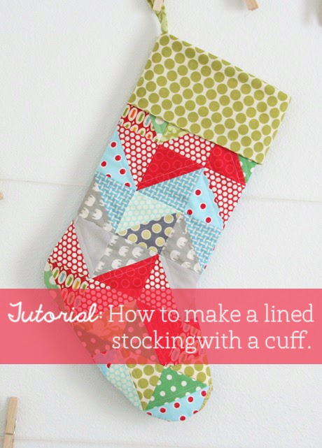 Stocking Tutorial | Cluck Cluck Sew : pattern for quilted christmas stocking - Adamdwight.com
