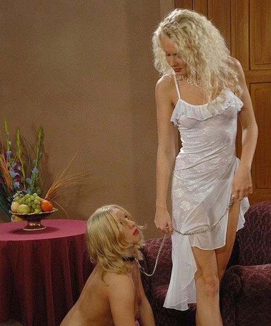 femdom lezdom slave girl with collar mistress leash goddeess pet obey