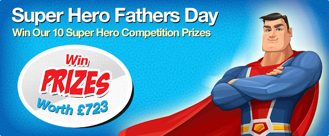 Into The Blue Super Hero Father's Day Competition