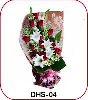 hand buket spesial bunga valentine