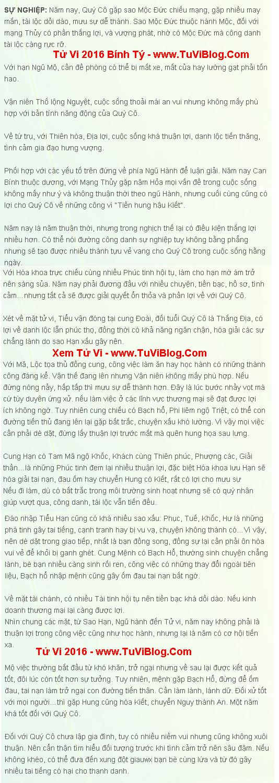 Tu Vi 2016 Binh Ty 1996 Nu Mang
