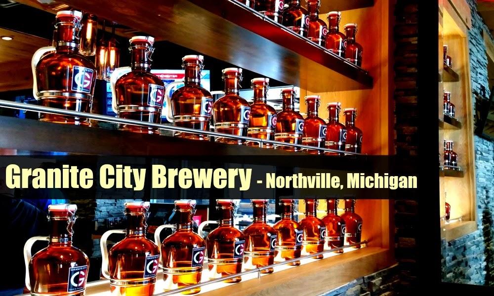 #ad Granite City Brewery Northville, Michigan