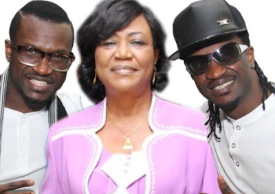 psquare mother burial funeral