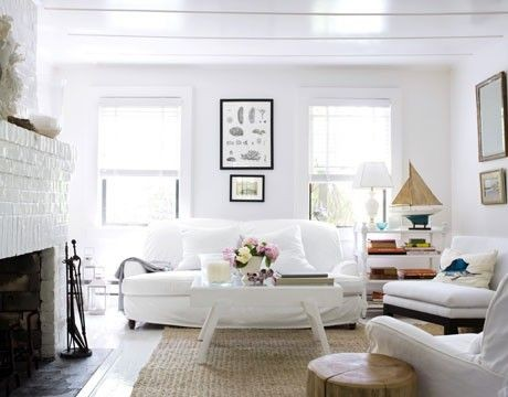 Coastal style the right white top paint picks for Beach cottage style decor