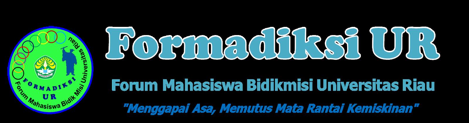 Formadiksi UR | Forum Mahasiswa Bidik Misi Universitas Riau